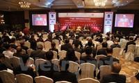 越老柬缅与印度企业第二次会议闭幕