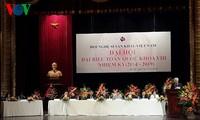 张晋创出席越南戏剧艺术家协会第8次全国代表大会