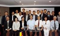 越南祖国阵线中央委员会主席阮善仁会见海外侨胞
