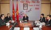 越共中央总书记阮富仲同中国国家主席习近平通电话