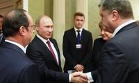 乌克兰问题三方联络小组签署实施明斯克协议的综合性措施