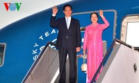 越南政府总理阮晋勇抵达澳大利亚悉尼