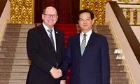 阮晋勇总理会见瑞典议会议长和俄罗斯驻越特命全权大使