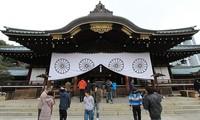 中韩抗议日本首相安倍晋三向靖国神社供奉祭品