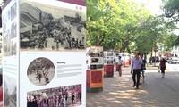 东南亚地区最后传统购物场所之一的河内古街摄影展举行