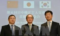 日中韩举行三国自由贸易协定新一轮谈判