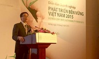 越南工商会举行2015越南可持续发展企业论坛