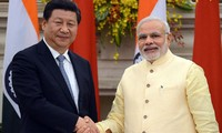中国和印度加强政治互信
