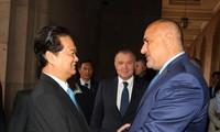 越南保加利亚发表联合公告