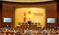 越南十三届国会九次会议讨论《临时拘押、监禁法(草案)》