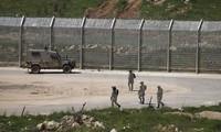 以色列在接壤约旦边界建造一道安全墙