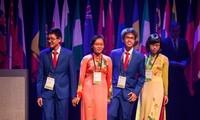 参加第26届国际生物学奥林匹克竞赛的越南四名学生全部获奖