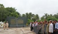 旅居老挝越南人举行7.27荣军烈士节纪念活动