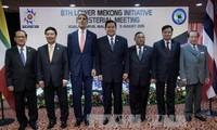 越南政府副总理兼外交部长范平明出席湄公河下游国家与美国部长级会议