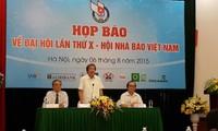 越南新闻工作者协会第十次代表大会即将举行