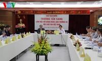 越南国家主席张晋创与越南律师协会座谈