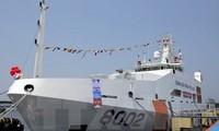 越南和印度海警举行海上搜救演练