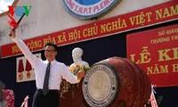 越南全国220万学生参加新学年开学典礼