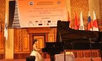 河内第三次国际钢琴比赛开幕