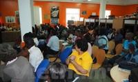 在莫桑比克学习的越南留学生推介国家形象