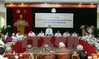 """越南祖阵向制定""""进一步发挥名望人士在民族工作和实施民族政策中的作用""""提案提供意见"""