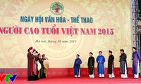 2015年越南老年人体育文化日在河内举行