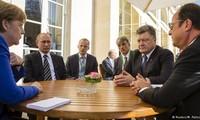 """""""诺曼底模式""""四国呼吁实施有关乌克兰问题的明斯克协议"""