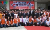 越南国家主席张晋创探访越德大学