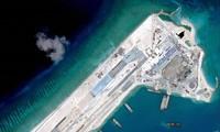 美国将对中国在东海非法建设的人工岛进行巡逻