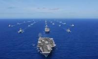 美国通知东盟各国将尽早向东海派遣军舰