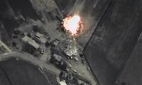 """俄军空袭摧毁""""伊斯兰国""""恐怖组织数十处目标"""
