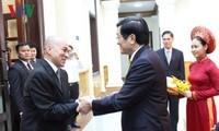 柬埔寨国王西哈莫尼:越南是柬埔寨人民的亲切近邻和重要朋友