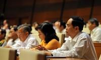越南国会就经济社会情况进行讨论