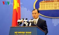 越南尊重东海上的航行和飞越自由权