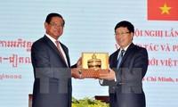 进一步深化越南和柬埔寨边境地区各省团结、友好与全面合作关系