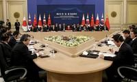 中日韩领导人会议在韩国举行