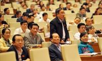 越南选民高度评价国会会议讨论国家社会经济发展情况