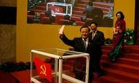 河内市第16次党代会选举产生由74人组成的新一届越共河内市委员会