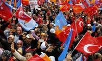 土耳其执政党在议会选举中胜出