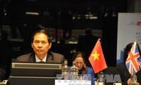 越南建议亚欧会议对话与合作要与实现可持续发展目标相结合