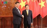 越南与中国巩固和加强全面战略合作伙伴关系