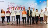 越南丰田汽车公司颁发2015年丰田奖学金