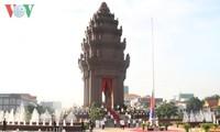 柬埔寨独立62周年纪念活动在柬埔寨和越南举行