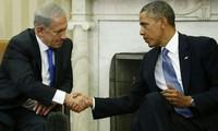 以总理内塔尼亚胡访美 承诺推进中东和平