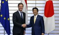 日本与荷兰均对东海紧张局势表示关切