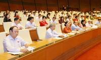 越南国会通过2016年国家财政预算决议并讨论《航海法》