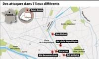 IS宣称对巴黎恐袭事件负责