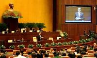 越南十三届国会十次会议质询活动的革新