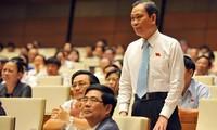 越南选民高度评价各部长在质询活动中的表现