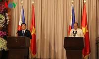 越南与菲律宾建立战略伙伴关系
